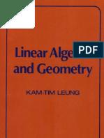 Kam-Tim Leung Linear Algebra and Geometry  1974