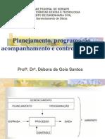 Aula de Planejamento e Programacao Apresentacao 2012