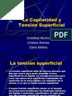 Capilaridad y Tsuperficial