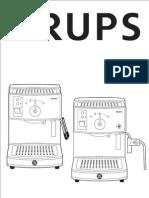 Krups Novo 2300 & 3000 Manual
