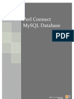 Perl Connect MySQL Database