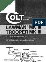 Colt Lawman Mk III, Trooper Mkiii