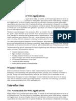 Selenium Documentation Pdf
