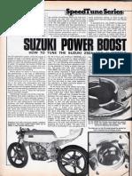 Tuning Suzuki GT250A M