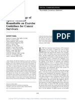 American_College_of_Sports Cancer Survivors and Physical Activity