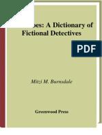 Diccionario de Detectives Ficticios