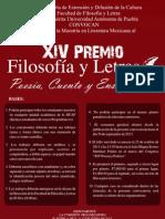 Xiv Premio Filosofia y Letras 2013