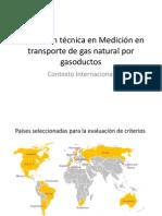 Regulacion Tecnica en Medicion en Transporte de Gas