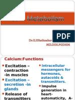 Ca++ Metaboloism-BDS