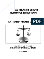 Mental Health Client Resource Directory 159784