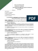 Ley 29476 Modificatoria de Ley 29090