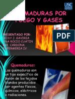 Quemaduras Por Fuego y Gases Expocicion