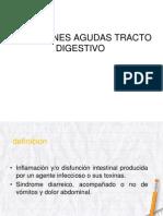 Infecciones Agudas Tracto Digestivo