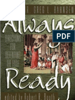 Always Ready (Greg Bahnsen)