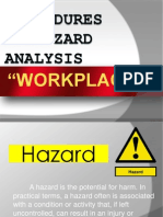 Procedure in Hazard Analysis