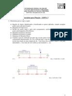 Lista 3 Diagramas de Estado UFS NAU 2013