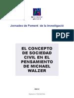 El Concepto de Sociedad Civil en El Pensamiento de Michael Walzer