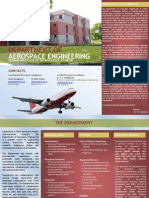 Aerospace Engineering Brochure