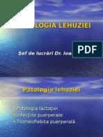 Patologia lactatiei