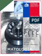 Instructivo Peec 2013 Hematologia - Hb_cg_mo_re
