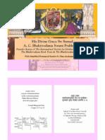 A- Gita Slokas Book by Dina a Das [Front Matter Only]