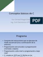 Conceptos Basicos de C