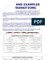 Types and Examples of Transitions - Copia