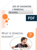 Issues of Diagnosis and Remedial Reading-joan