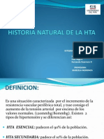 Historia Natural de La Hta