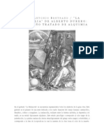 Melancolia de Alberto Durero- Analisis de Jose Antonio Bertrand