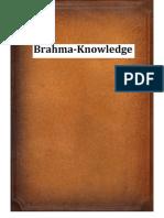 Brahma Knowledge
