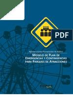 Modelo de Plan de Emergencias y Contingencias Para Parqu
