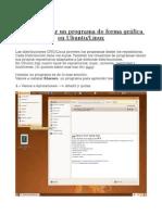 instalación de un programa en Ubuntu Linux
