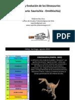 Origen y Evolucion de Los Dinosaurios Roberto Diaz Aros