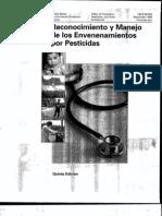 Reconocimiento y Manejo de Envenenamientos Por Pesticidas