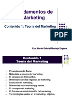 Fund MKT Contenido 1 Teoría del Marketing