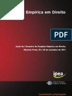 Livro Pesquisa Empirica Direito