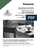 Kxtcd440 Tcd445 Book