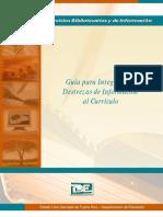 Guía Curricular Programa de Biblioteca
