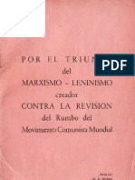 Por El Triunfo Del Marxismo - Leninismo