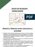 Farmacos de Bloqueo Ganglionar