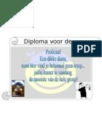 Diploma Mooiste Kamer