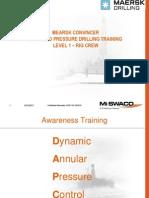 Level 1 MPD Training