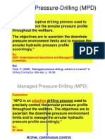 Managed Pressure Drilling (MPD)