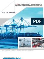 Container Handling Cranes and Bulk Material Handling Equipment