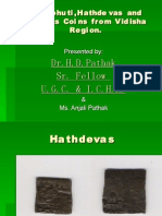 Revabhutis coin by Dr. H. D. Pathak