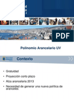 Polinomio Arancelario UV
