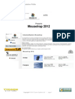 02 - Mousetrap 2012 - FAQs