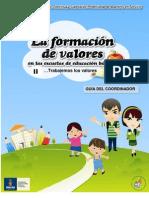 La formacion de valores en las escuelas de educación básica II GUIA DEL COORDINADOR final