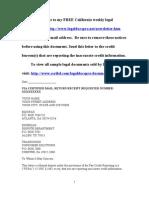 sample dispute letter to credit bureau - Sample Settlement Letter